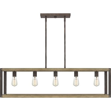 Quoizel Interior Lighting Finn Island Chandelier