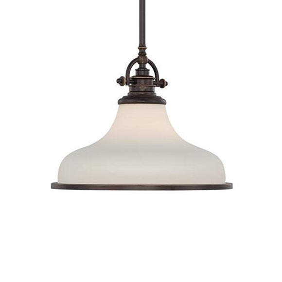 Quoizel Interior Lighting Grant Opal Bronze Pendant