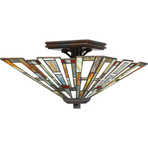 Quoizel Interior Lighting Maybeck Flush Mount