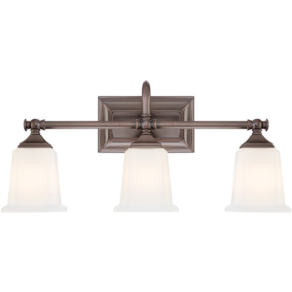 Quoizel Interior Lighting Nicholas Bronze 3 Light Fixture