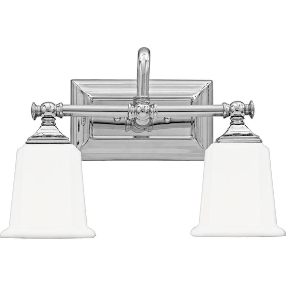 Quoizel Interior Lighting Nicholas Chrome 2 Light Fixture
