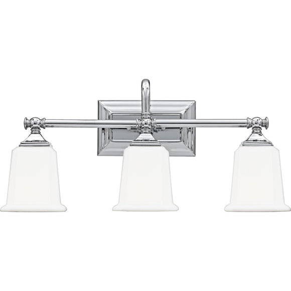 Quoizel Interior Lighting Nicholas Chrome 3 Light Fixture