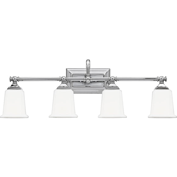 Quoizel Interior Lighting Nicholas Chrome 4 Light Fixture