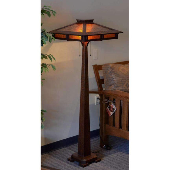 Ragsdale Home Lamps Prairie Craftsman Floor Lamp