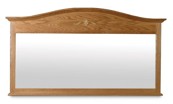 Simply Amish Bedroom Arch Top Bureau Mirror