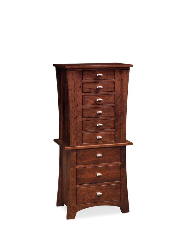Simply Amish Bedroom Express Ship Loft Jewelry Armoire