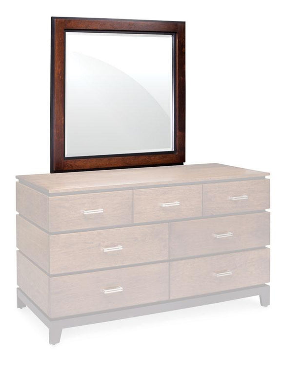 Simply Amish Bedroom Frisco Dresser Mirror 41 inch
