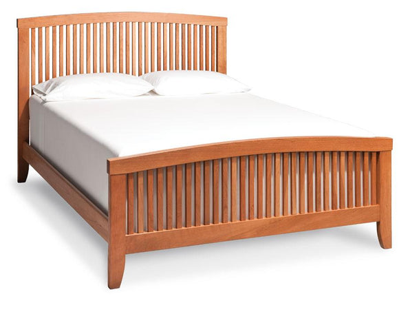 Simply Amish Bedroom Justine Slat Bed California King Complete Bed (no mattress or box spring)