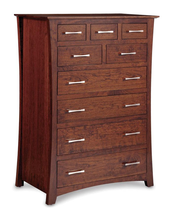 Simply Amish Bedroom Loft 9-Drawer Chest