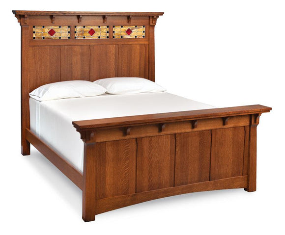 Simply Amish Bedroom MaRia Bed California King Complete Bed (no mattress or box spring)