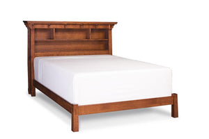 Simply Amish Bedroom MaRyan Bookcase Bed California King Complete Bed (no mattress or box spring)