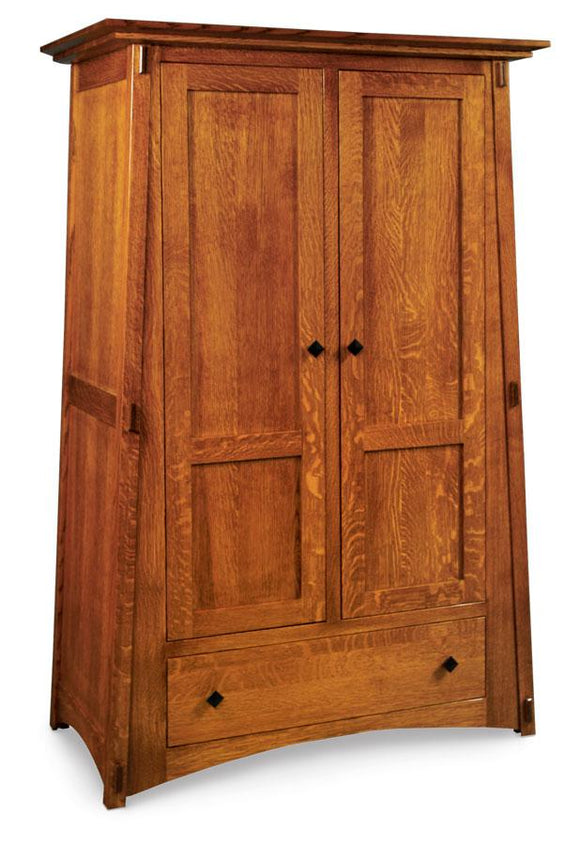 Simply Amish Bedroom McCoy Wardrobe