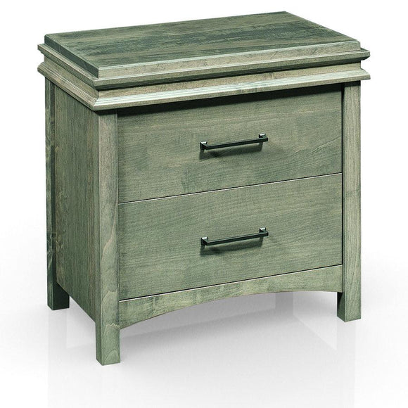 Montgomery 2-Drawer Nightstand, Extra Wide by Simply Amish
