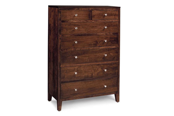 Simply Amish Bedroom Parkdale 7-Drawer Chest