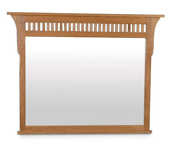 Simply Amish Bedroom Prairie Mission Dresser Mirror 45 inch w