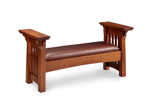 Simply Amish Bedroom Ryan Santa Fe Bench