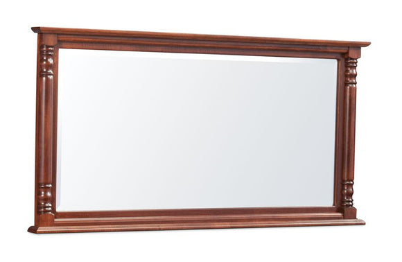 Simply Amish Bedroom Savannah Bureau Mirror