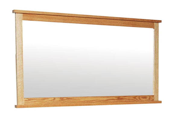 Simply Amish Bedroom Shaker Bureau Mirror