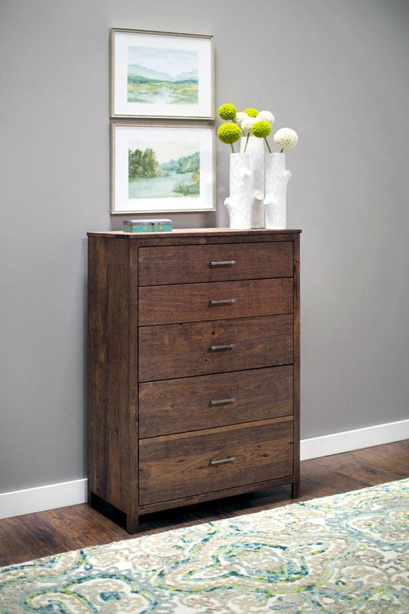 Simply Amish Bedroom Sheffield 5-Drawer Chest