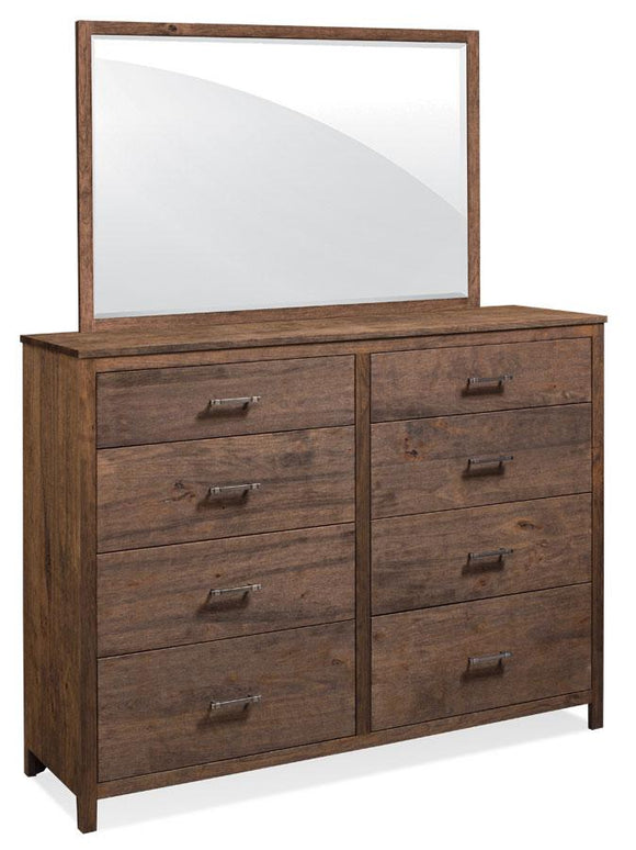 Simply Amish Bedroom Sheffield 8-Drawer Mule Chest
