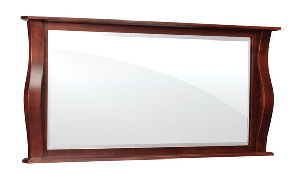 Simply Amish Bedroom Sophia Bureau Mirror