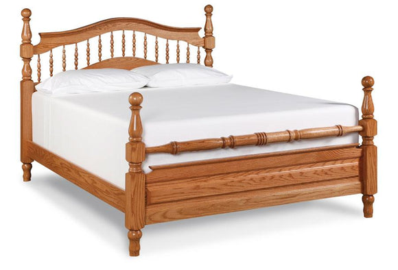 Simply Amish Bedroom Spindle Bed California King Complete Bed (no mattress or box spring)