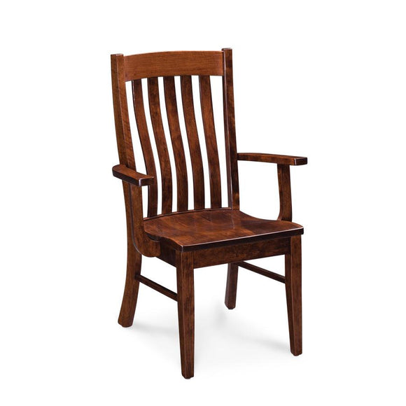 Simply Amish Dining Bradford Arm Chair