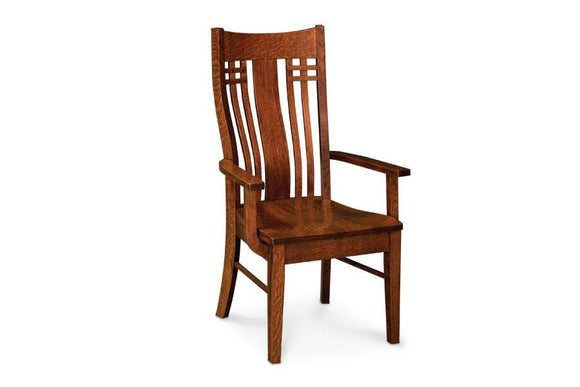 Simply Amish Dining Bradley Arm Chair