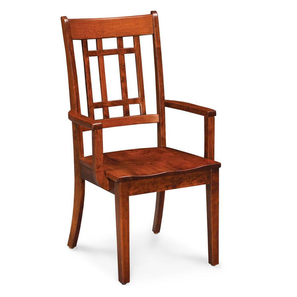Simply Amish Dining Campbell Arm Chair