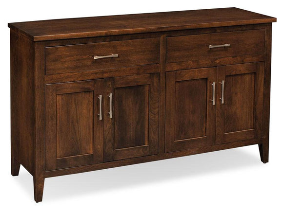 Simply Amish Dining Crawford Buffet with Legs 60 inch