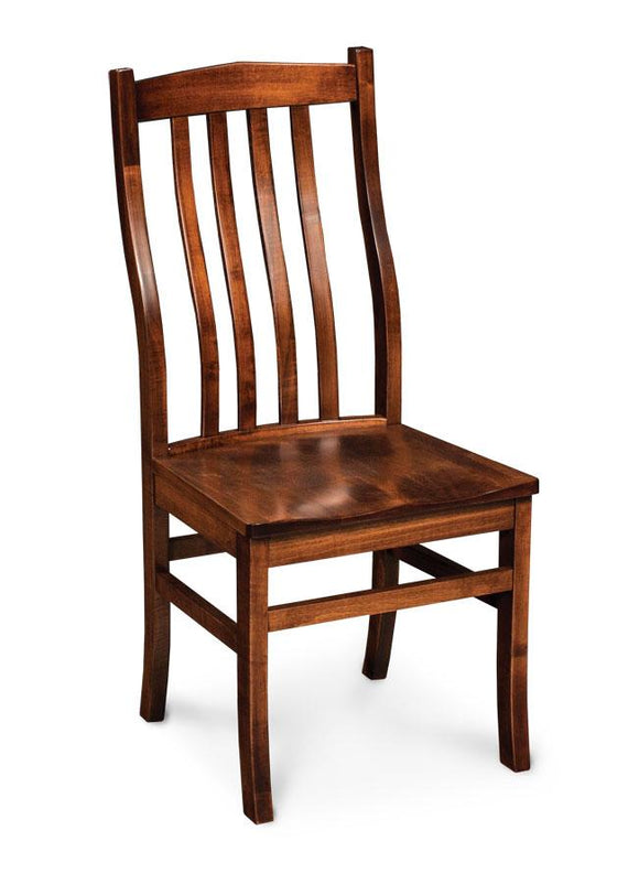Simply Amish Dining Express Ship Clifton Side Chair-Bourbon