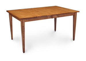 Simply Amish Dining Express Ship Shenandoah Leg Table-Bourbon