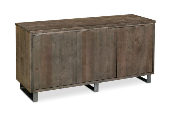 Simply Amish Dining Ironwood Credenza 60 inch Black