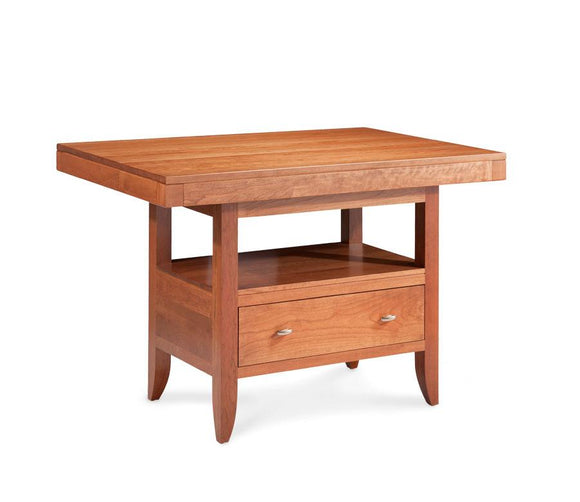 Simply Amish Dining Justine Island Table