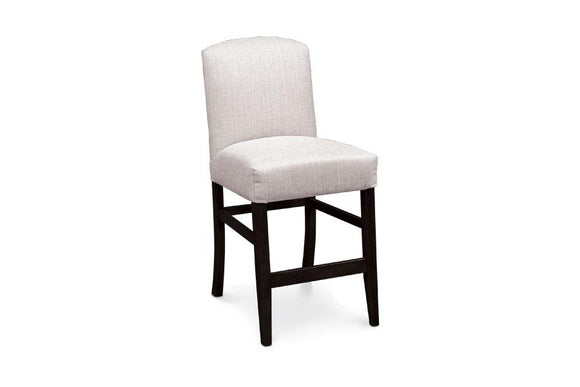 Simply Amish Dining Lana Stationary Barstool 30 inch h