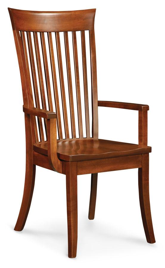 Simply Amish Dining Loft Arm Chair