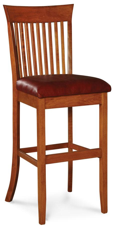 Simply Amish Dining Loft Stationary Barstool 24 inch h