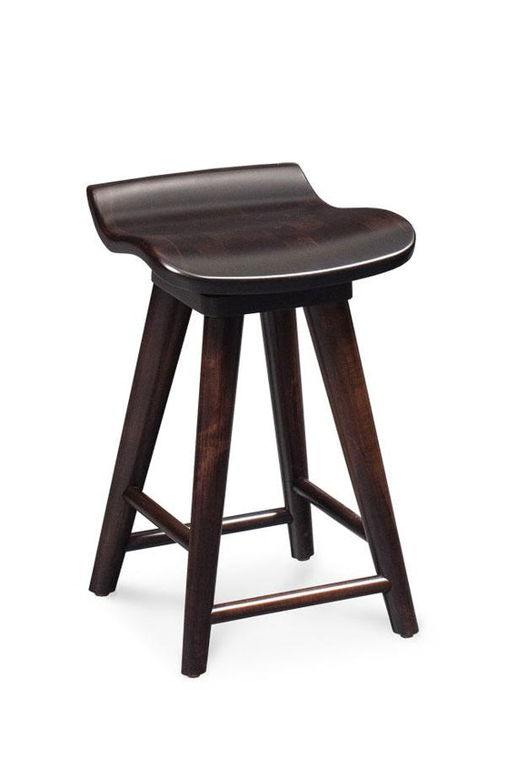 Simply Amish Dining Mason Swivel Barstool 24 inches