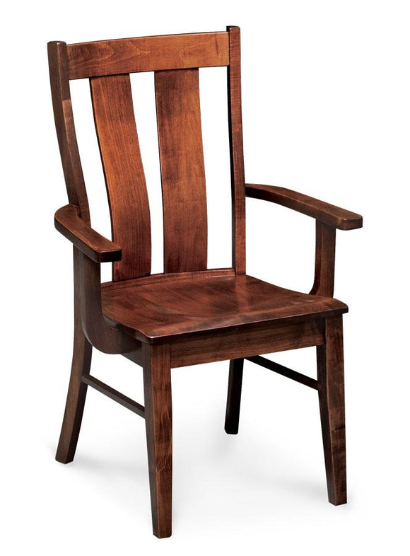Simply Amish Dining Mitchell Arm Chair