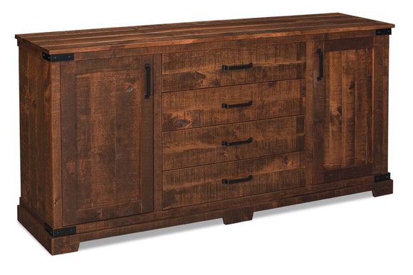 Simply Amish Dining Montauk Buffet(Rough Sawn Std) 60 inch