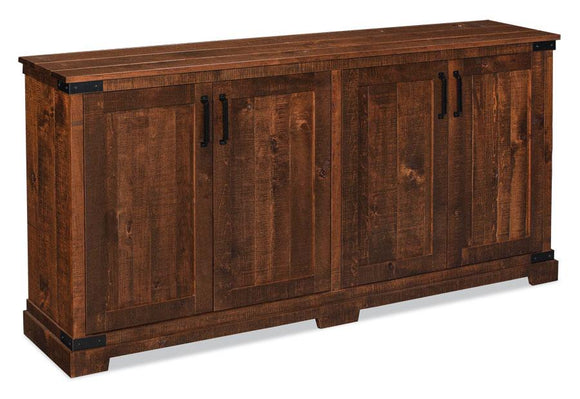 Simply Amish Dining Montauk Credenza,(Rough Sawn Std) 60 inch