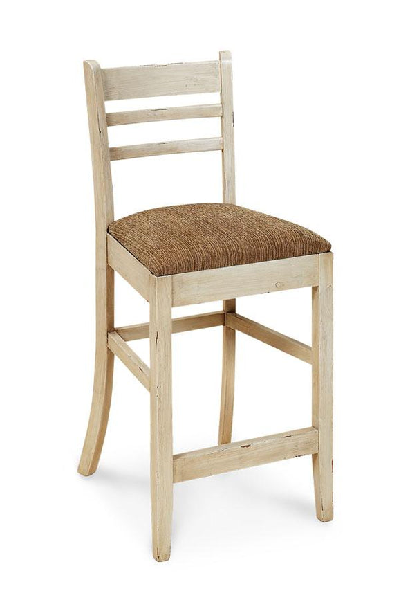 Simply Amish Dining Pasadena Stationary Barstool 24 inch h