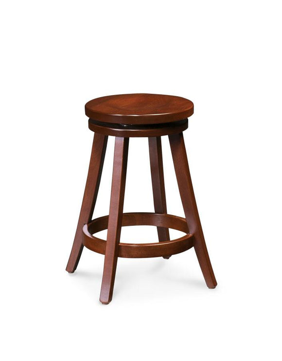 Simply Amish Dining Portland Swivel Barstool 30 inch h