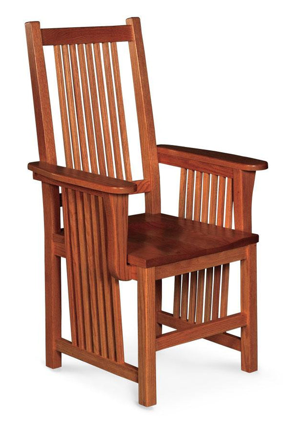 Simply Amish Dining Prairie Mission Arm Chair