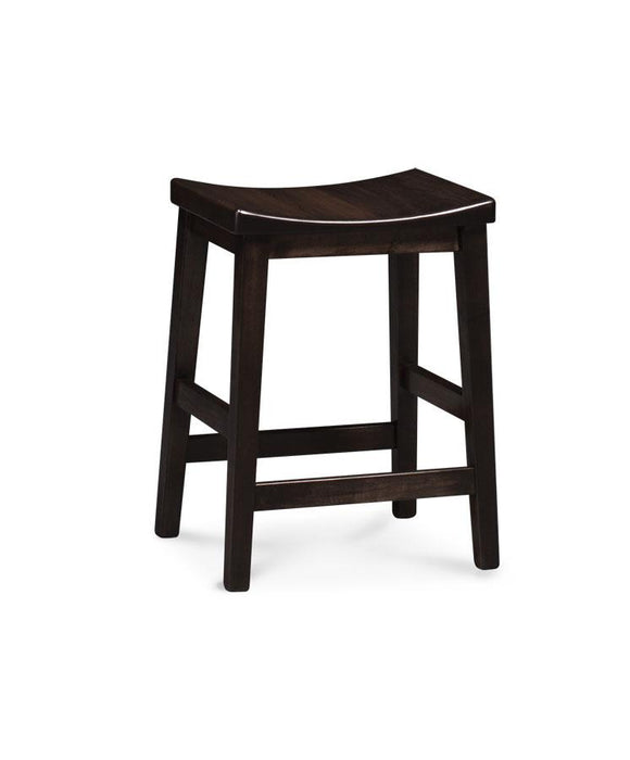 Simply Amish Dining Sara Stationary Barstool 30 inch h