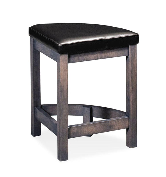 Simply Amish Dining Sector Stationary Barstool