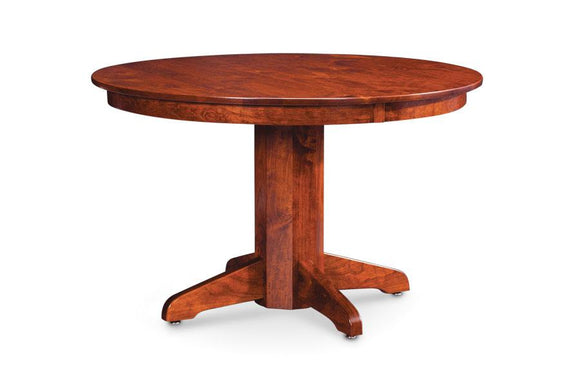 Simply Amish Dining Shenandoah Single Pedestal Table