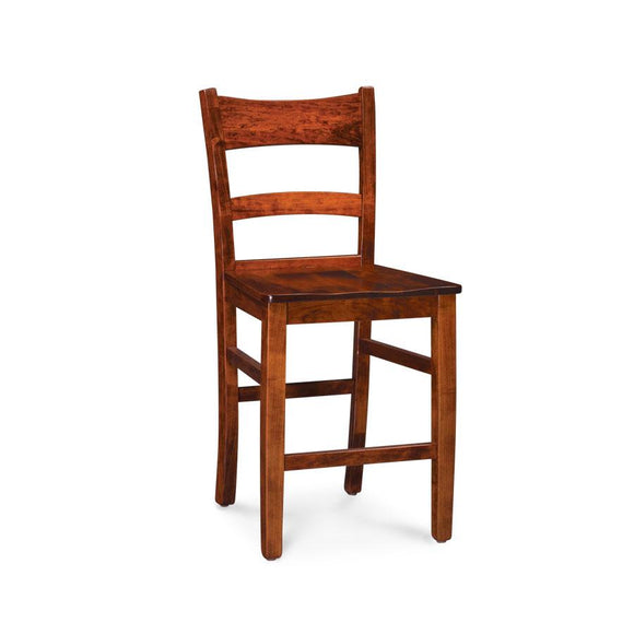 Simply Amish Dining Shenandoah Stationary Barstool 30 inch h