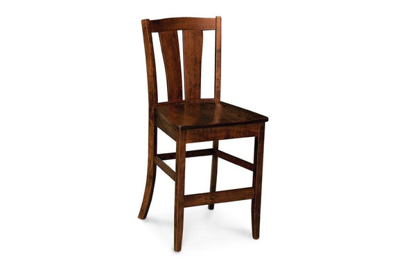 Simply Amish Dining Victoria Stationary Barstool 30 inch h