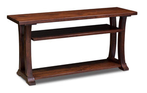 Simply Amish Living Alexandria Open TV Stand
